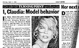 Claudia Shiffer TP article