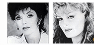 Joan Collins, Wyonna Judd photo from Turning Point book