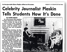 Plaskin Celebrity Journalist Turning Point article